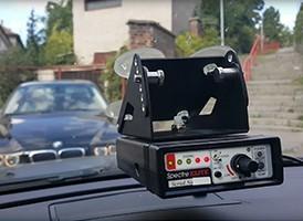 Radarové detektory GENEVO jsou imunní vůči detektorům detektorů