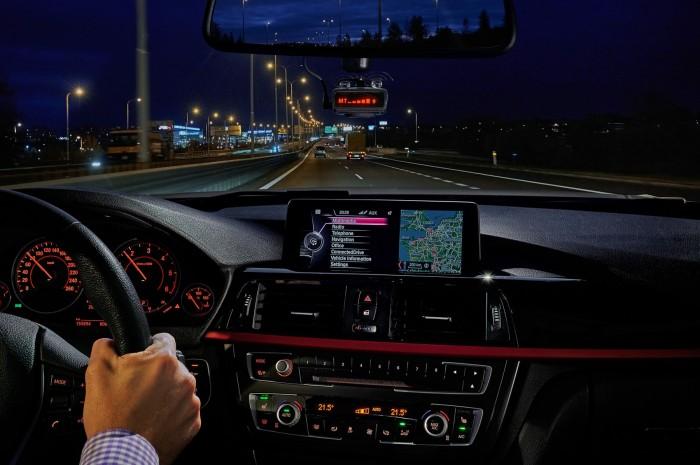 GENEVO ONE M in car